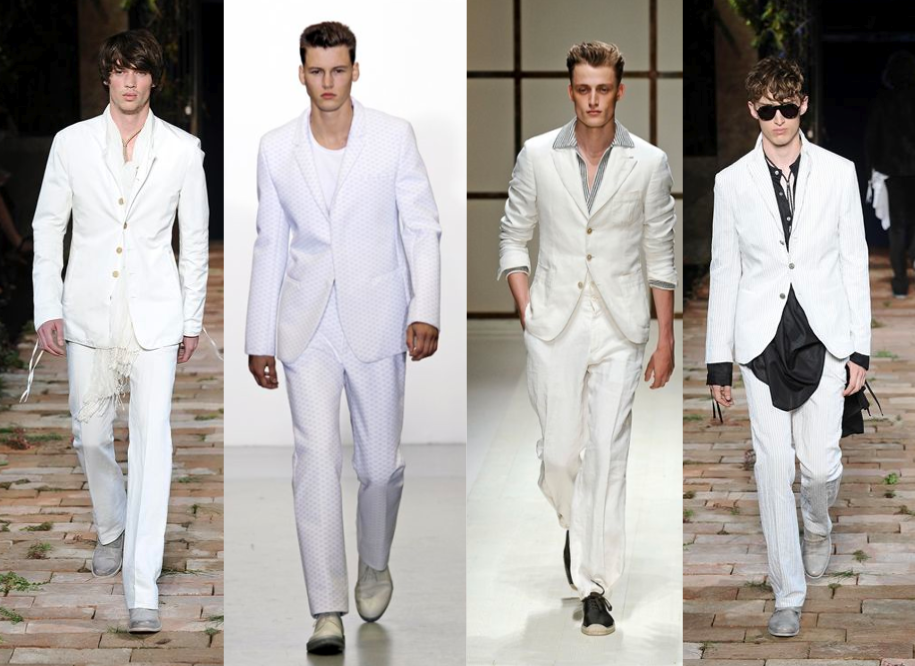 Not your average suit menswear for Boda en jardin como vestir